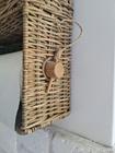 Półka Ścienna Hampton Rattan Z Uchwytem Na Ręcznik Kuchenny (5)