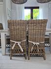 Rustykalne Krzesło Hampton Z Rattanu  (6)