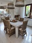 Rustykalne Krzesło Hampton Z Rattanu  (7)