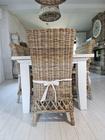 Rustykalne Krzesło Hampton Z Rattanu  (9)
