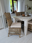 Rustykalne Krzesło Hampton Z Rattanu  (1)