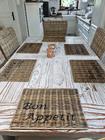 Podkładka Rustykalna Hampton Rattan Pod Talerz Z Napisem Bon Appetit (5)