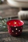 Świecznik Lampion Metalowy Emaliowany RED  IB LAURSEN (5)
