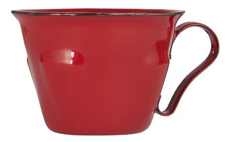 Emaliowany Kubek Mini Czerwony IB Laursen (1)