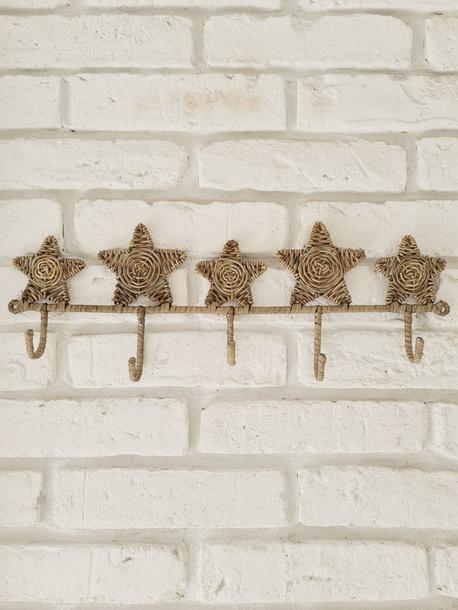 Rattanowy Wieszak Hampton Stars (1)