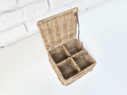 Rattanowy Pojemnik Hampton Na Herbatę Tea Box  (3)