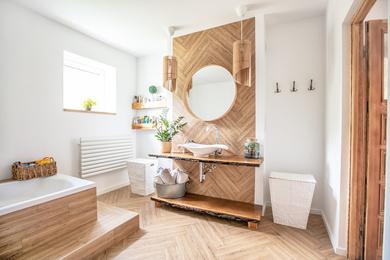 Jakie dodatki sprawdzą się łazience w stylu skandynawskim?
